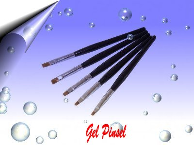 Gel-Pinsel-Set