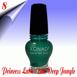 Konad-Nail-Stamping-Princess-Lack-Deep-Jungle-Nr8