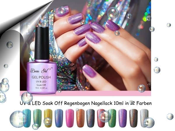 UV-Led-Soak-Off-Gel-Polish-Regenbogen-12-Farben