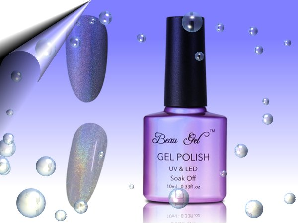 UV-Led-Soak-Off-Gel-Polish-Regenbogen-Silber-Nr12